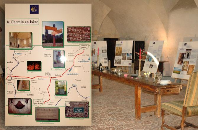 Expo st Jacques au château de Bresson